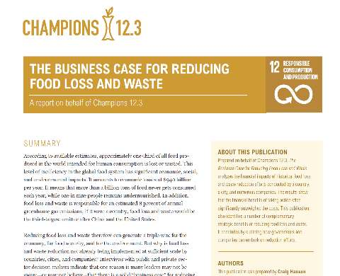 The Business Case for Reducing Food Waste