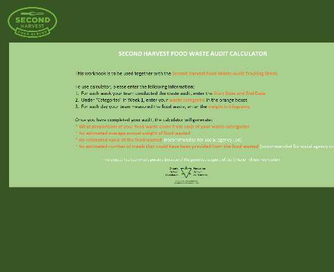 Food Waste Audit Calculator